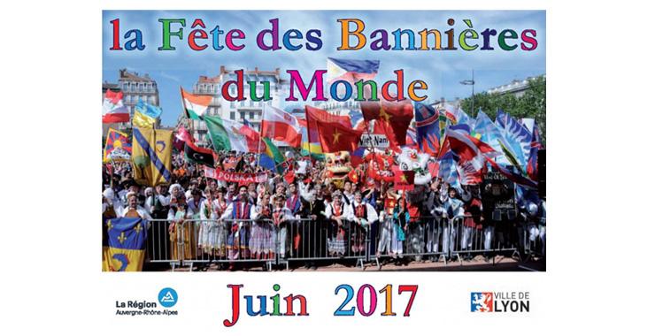 Fête des Bannières du Monde Juin 2017