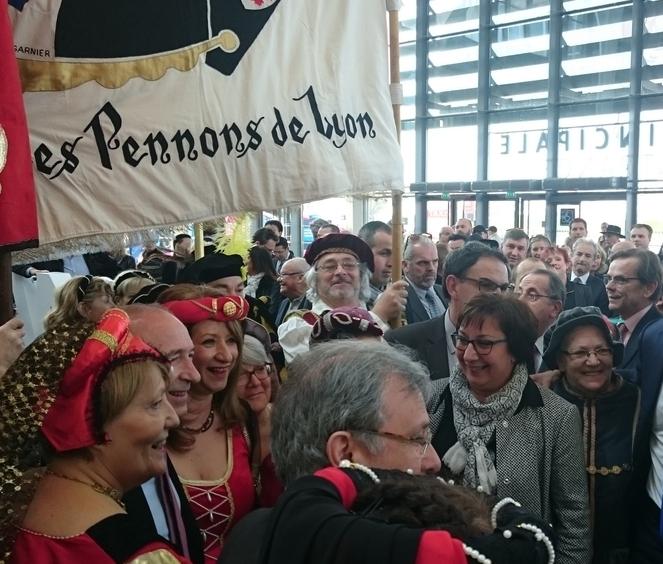 Les Pennons à la foire de Lyon