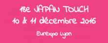 Japan Touch à Eurexpo Lyon