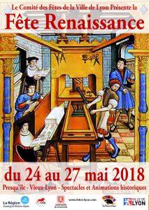 fete renaissance Lyon et Pennons