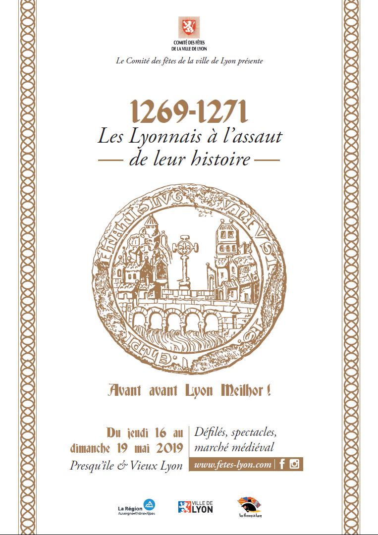 1269-1271 : Les Lyonnais à l'assaut de leur histoire
