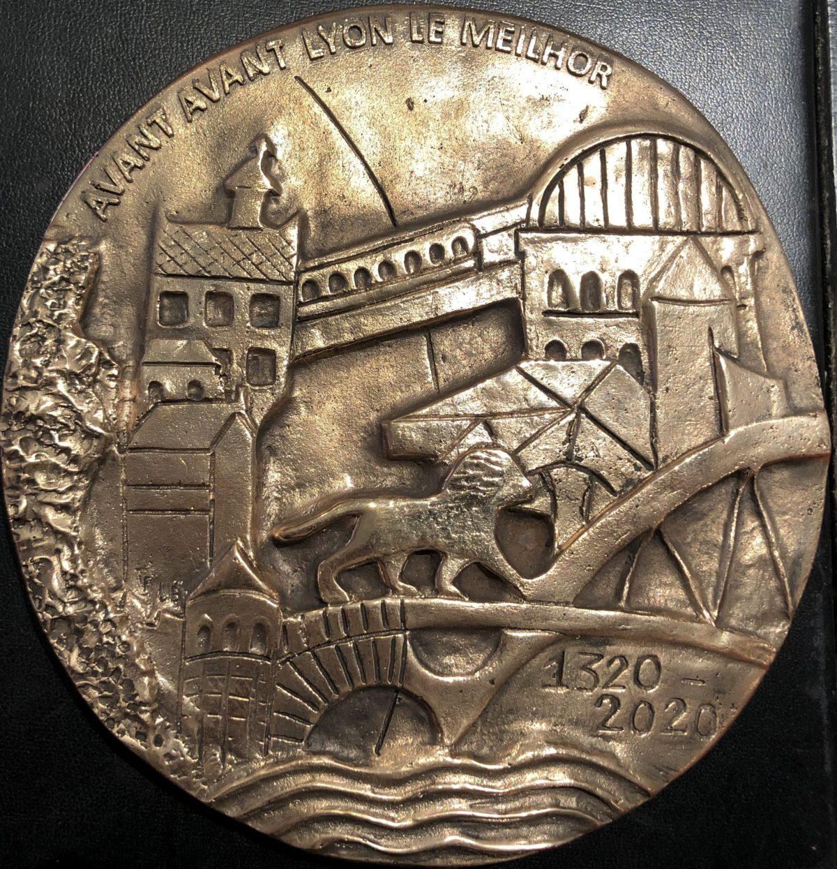 Médaille du 700ème anniversaire de la Charte Sapaudine