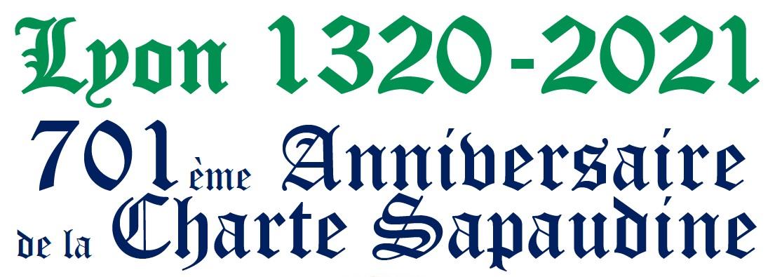 701ème anniversaire de la Charte Sapaudine